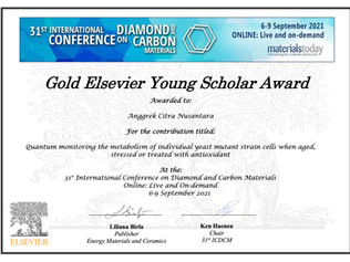 Citra wins the Gold Elsevier Young Scholar Award at the 31st DCM