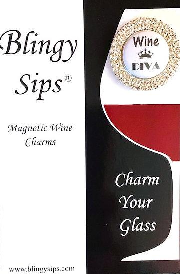 Sparkly Wine Diva