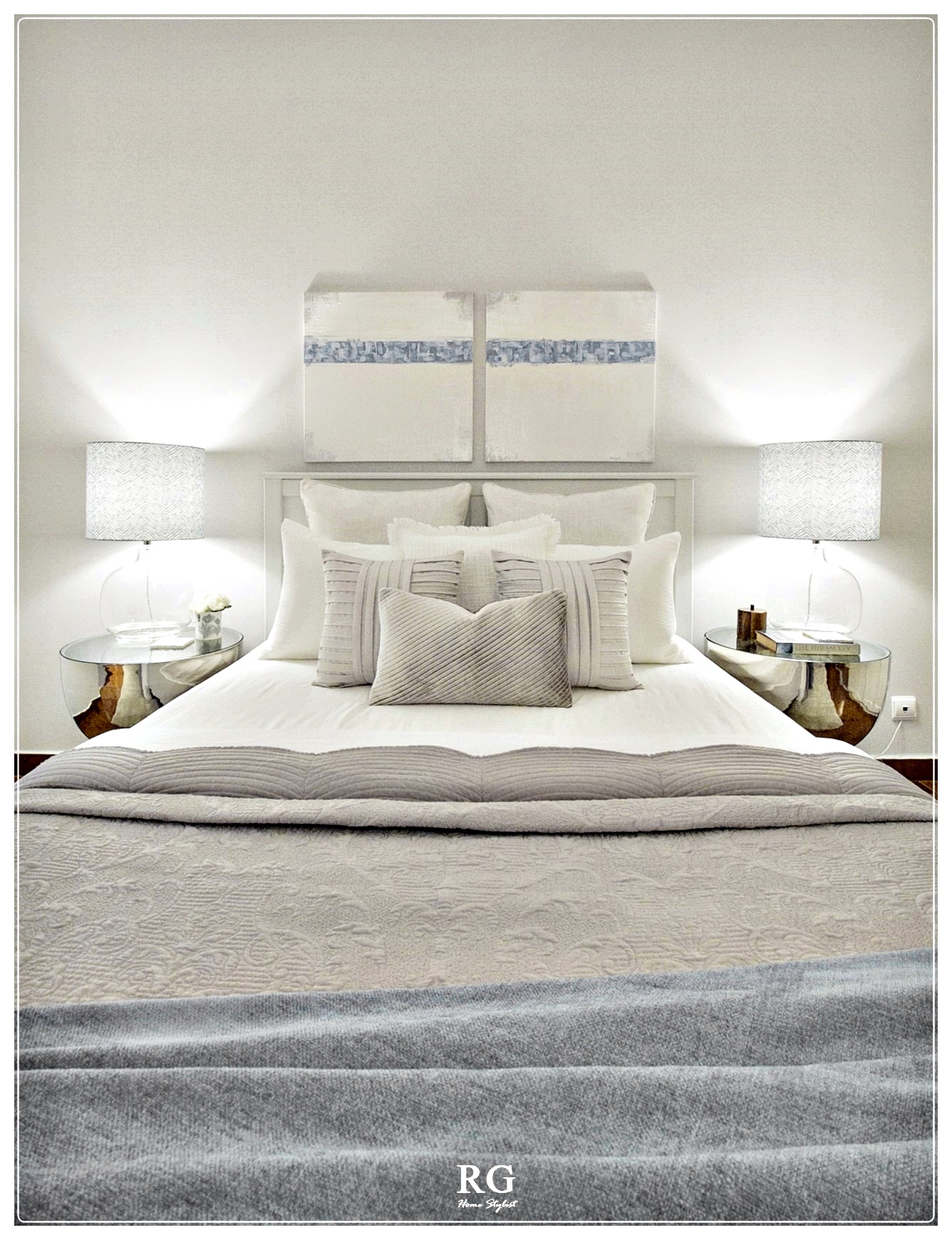 Projeto - White tranquility bedroom