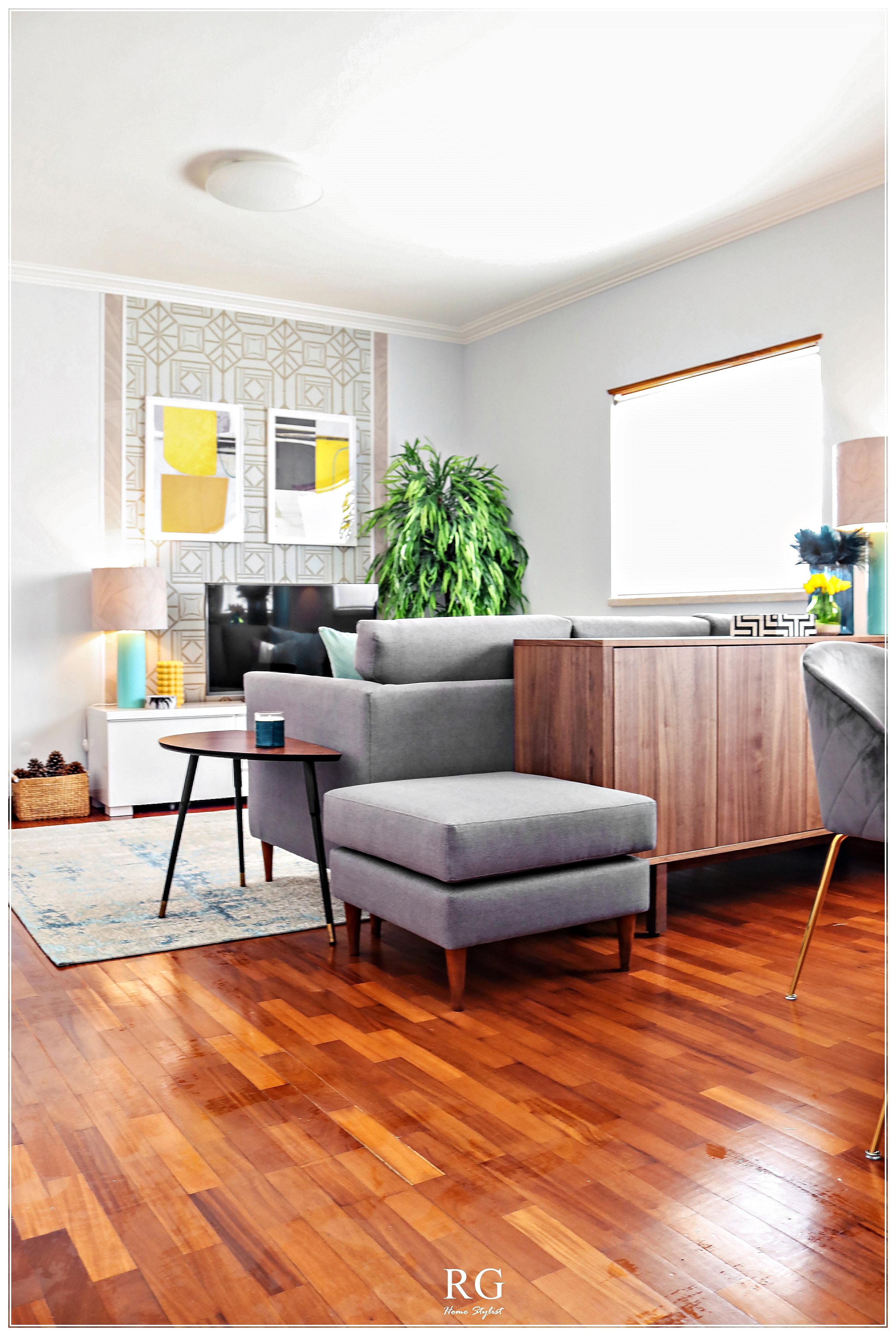 Projeto - Shoji Aqua living room