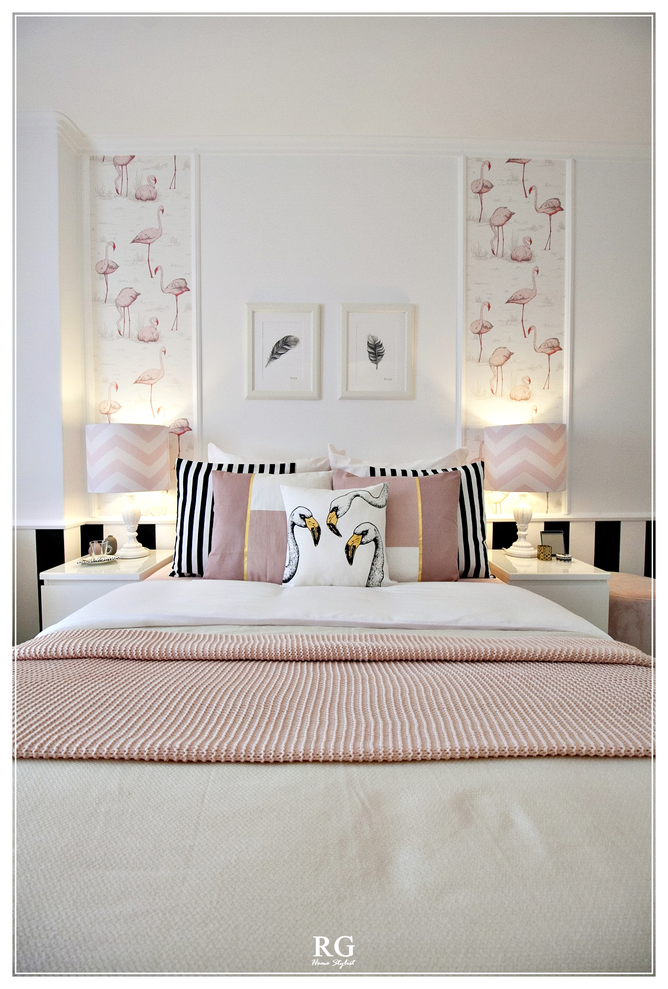 Projeto - The flamingos bedroom
