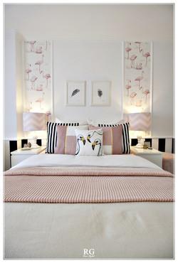 Projeto - The flamingos bedroom