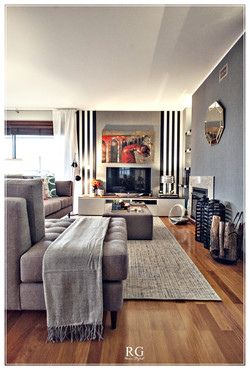 Projeto-The Transitional living room