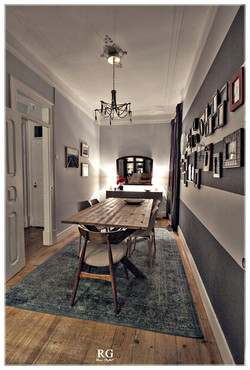 Projeto - Cosy Wood Dining Room
