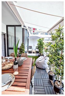 Projeto - Wood Summer Balcony