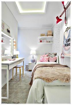 The happy studio bedroom