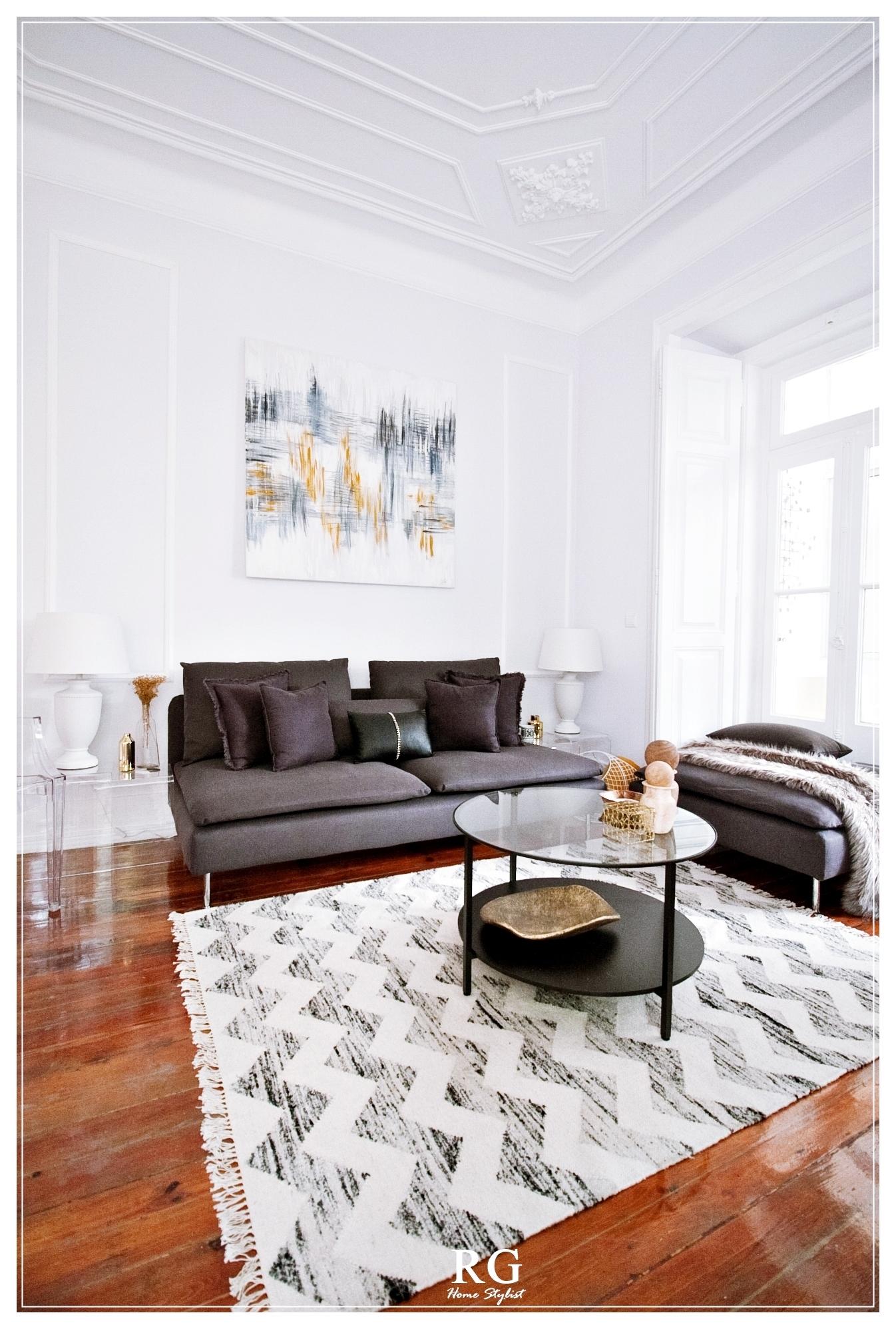 Projeto - Gallery Living&Dining room