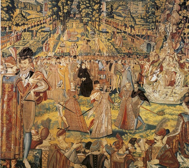 The Valois Tapestry, c. 1575, unknown atelier