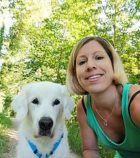 Jeannne Piron, Hundephysiotherapie
