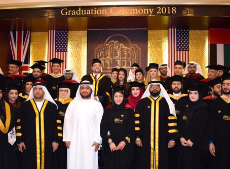 Eton University Celebrates 2018 UAE Graduation Ceremony