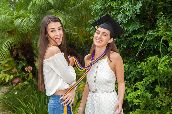 little sister graduates