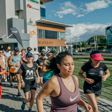 Client: NIKE Ft. Saba Event: Running Session Venue: Terrazas Lindora Agency: Reason Brand Activation