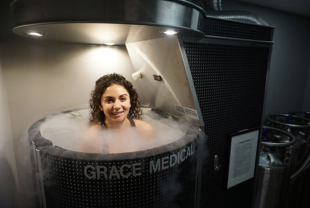 cryotherapy session