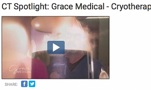 NBC CT Spotlight Grace Medical Aesthetics Cryotherapy