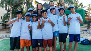 Giving Back: Flavor Waves and UpSpring  introduce underprivileged children to windsurfing
