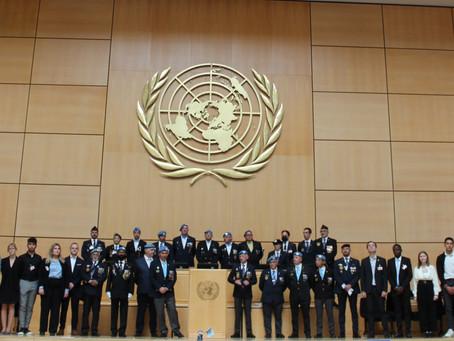L'Académie Internationale de la Paix à Genève pour la Journée Internationale des Casques Bleus