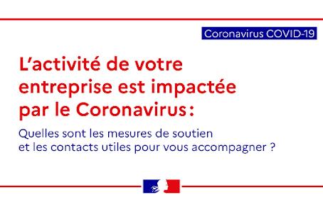 Coronavirus : un nouveau point sur les mesures immédiates de soutien aux entreprises
