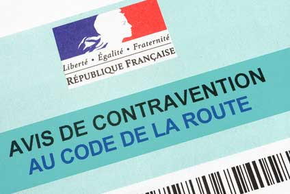 Contravention routière
