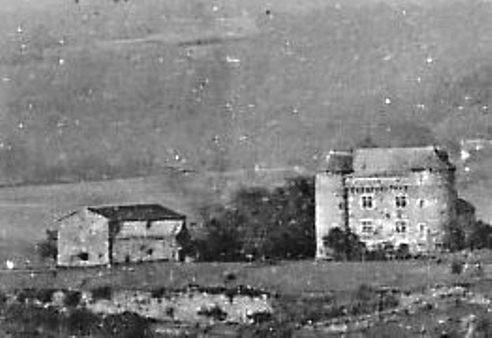 Vue prise d'Agnac 1923