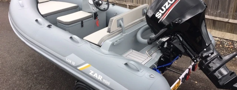 2021 ZAR RIB PRO 12DL 3.6M DELUXE CONSOLE RIB PACKAGE