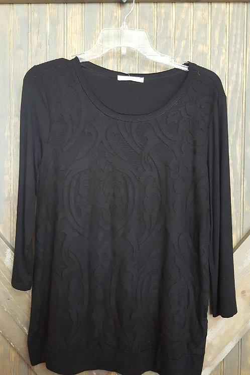 Black Patterned Shirt