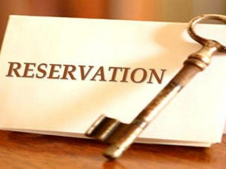 THE EVOLUTION OF RESERVATION IN PROMOTION