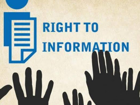 RIGHT TO INFORMATION – A BOON OR BANE?