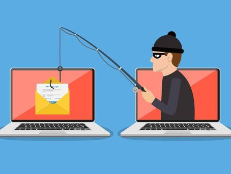 PHISHING OR FISHING - WHICH CAN GET YOU IN A TRAP?