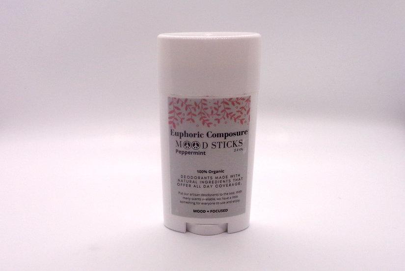 Peppermint Deodorant --- Mood Sticks