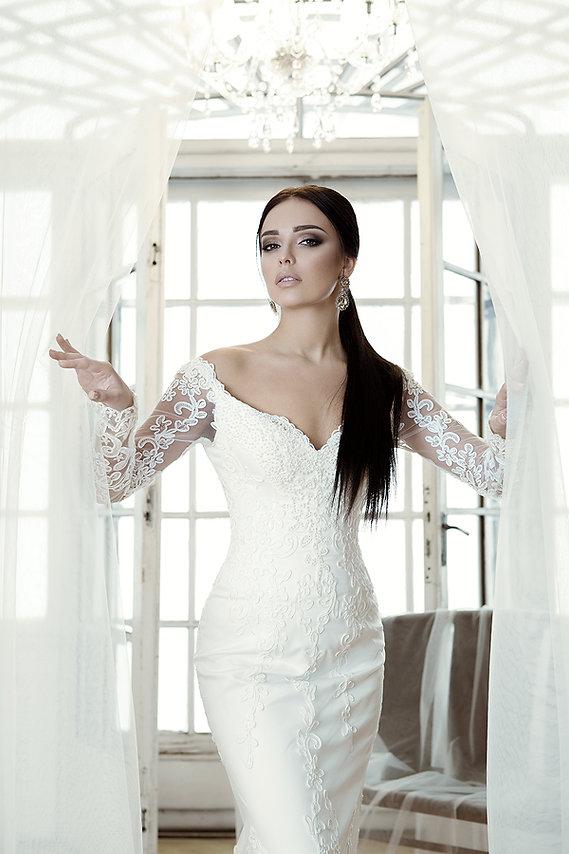 свадебное платье мона