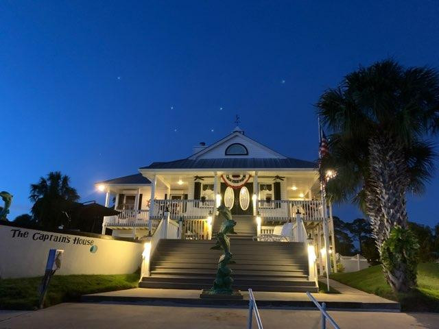 The Captains House in The Evening Hours