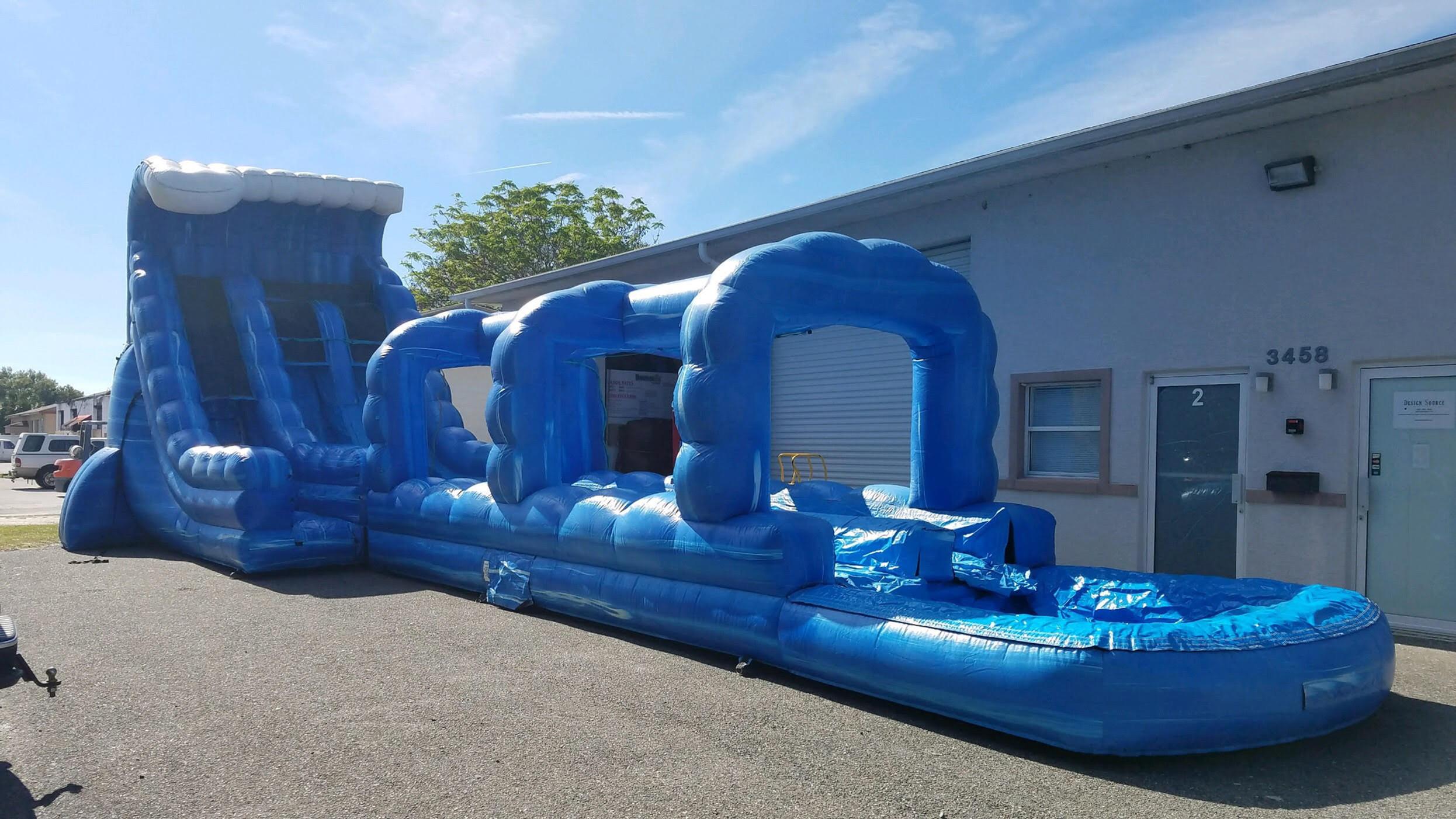 Tidal Splash Slide (Wet Rental)