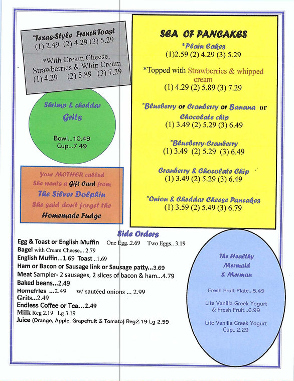 Silver Dolphin --updated menu-01-31-2020