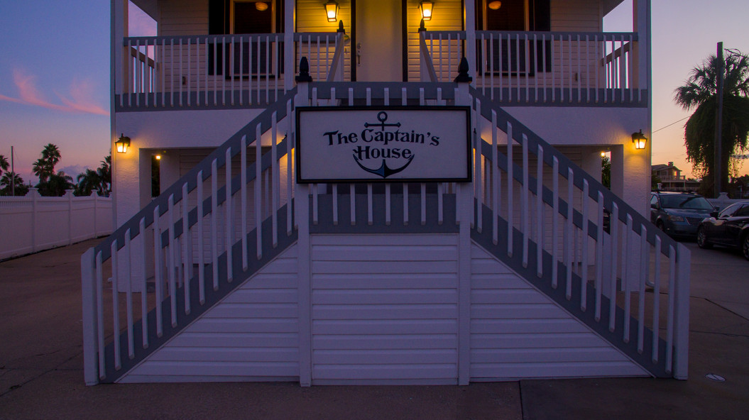 The Captains House at Dusk