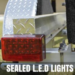 Sealed L.E.D Lights