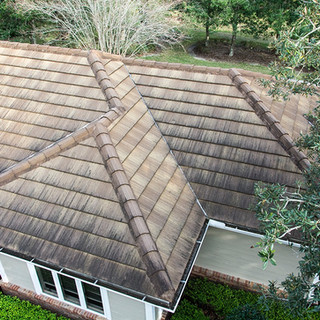 Back 2 Bright Roof Cleaning Before