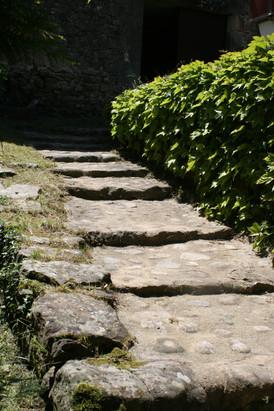 l'accès au moulin