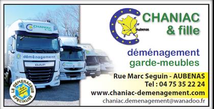 déménagement Chaniac