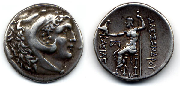 Alexander the Great Tetadrachm