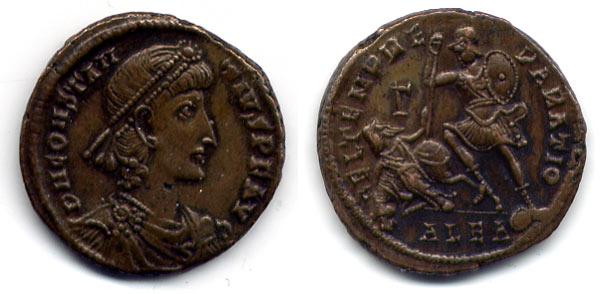 Constantine Bronze of Alexandria Egypt