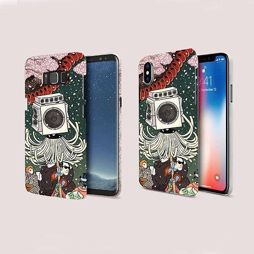 Japanese Ukiyoe Phone Case / iPhone, Samsung Galaxy, Google with T-Spice Beat
