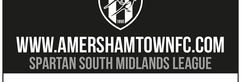 Amersham Town FC Season Ticket 2021/22