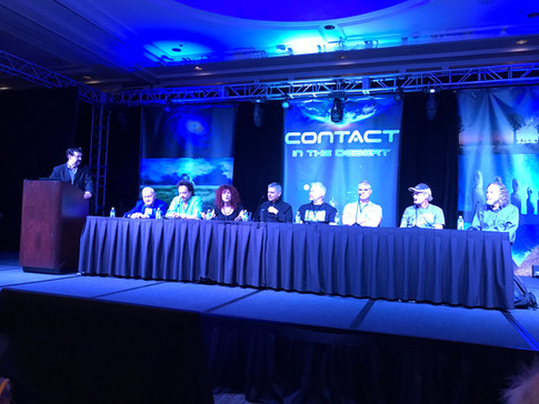 George Noory's Panel at Contact in the Desert featuring Sonja Grace