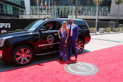 Space Games Federation Team at the ESPY's