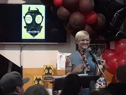 Dahlia Schweitzer book signing