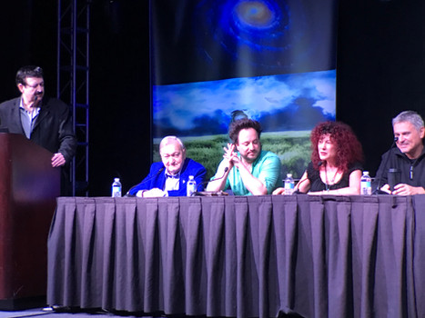 Contact in the Desert Panel