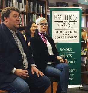 Dahlia Schweitzer at Politics and Prose in DC