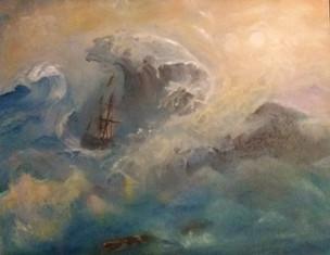 Merja Viitanen, Haaksirikko merellä