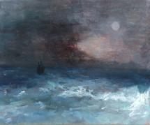 Heli Berg, Aivazovski-tyylinen merimaisema