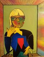 Merja Viitanen, Omakuva Picasson tyyliin